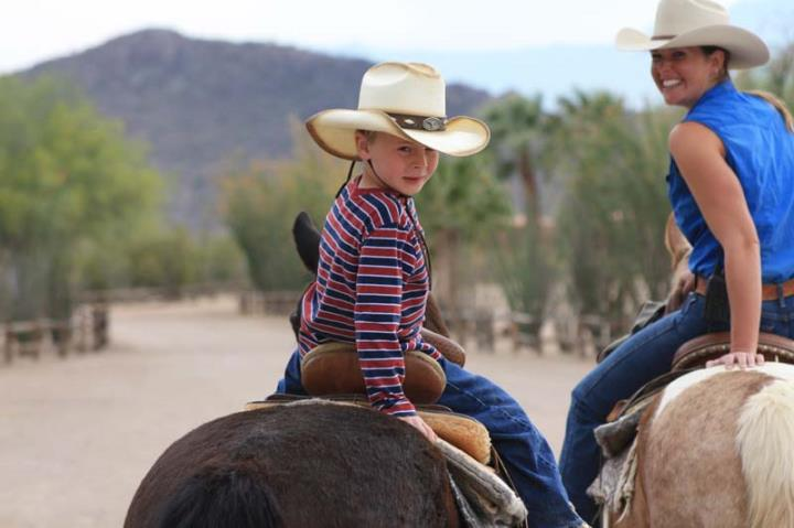 Family fun at White Stallion Ranch