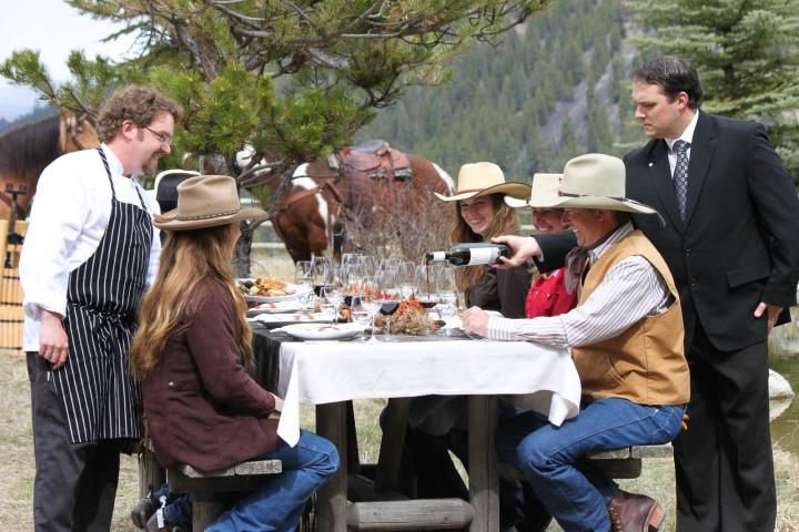 Triple Creek Ranch Lunch