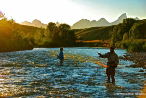 Fly-Fishing on Gros Ventre River