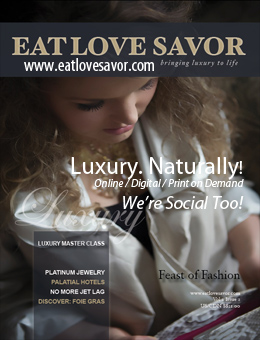 Eat Love Savor magazine