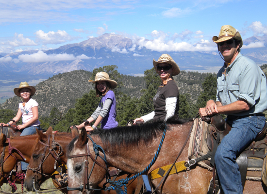 Elk Mountain Ranch Colorado Family Ride