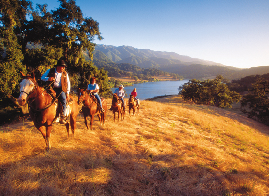 Alisal Guest Ranch and Resort sunrise
