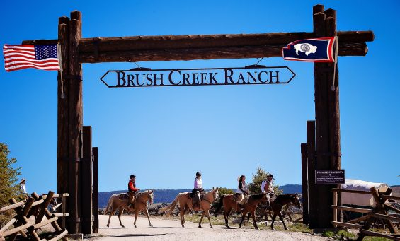 Brush Creek Ranch Has Been Named No 2 In The World By